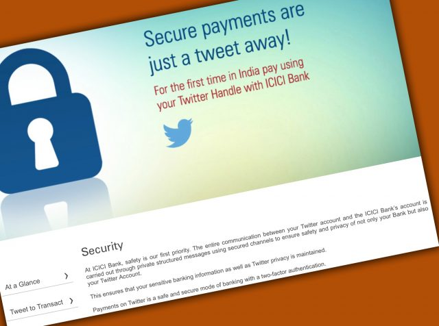 Although ICICI claims all communications are private, much of what happens on Twitter is visible to the world.